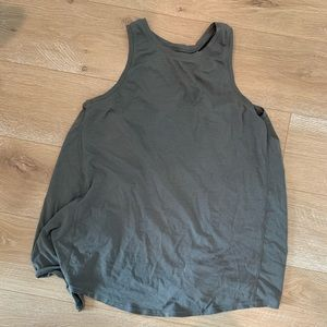 Lululemon open back workout tank